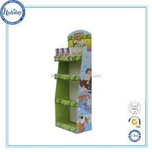 Corrugated Flooring Store Retail Fancy Dolls Display Stand