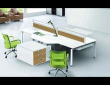 2015 Ireland Market Natural Oak Veneer MDF Base Modern Furniture Office Desk