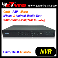 New TN-832 Support Onvif P2P iPhone & Android Mobile H.264 IP 32CH NVR CCTV