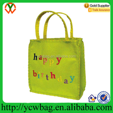 Cheap Lime Happy Birthday Gift Bag