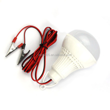 DC12V 24V 36V 48V 60V led bulb 3w 5w 7w 9w 12w low voltage bulb with line wire
