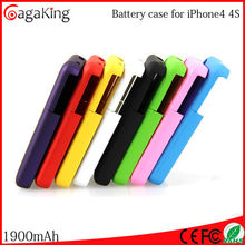 Mobile phone battery charger High quality battery storage case for iphone 4 battery charger