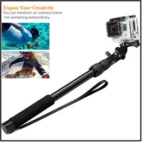 tourism supplies for digital camera high quality stable legoo selfie stickwith pan tilt head