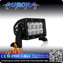 Professional Aurora Offroad 4inch dual row off road led light bars