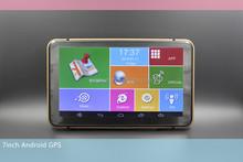"Provide free Navitel map 7"" gps navigation Android system 512M DDR3 car gps navigator with WIFI car DVR tablet gps navigator"