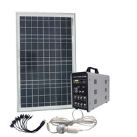 Smart 30w DC solar home power lighting system for indoor in hot sale