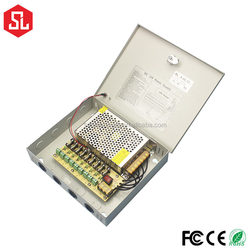 9 Channels 12V 5A CCTV Switching Power Supply
