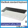 In stock! multimedia 2.4G Wireless slim ultra-thin chocolate multimedia keyboard with scissor key