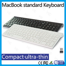 In stock! multimedia 2.4G Wireless slim ultra-thin chocolate multimedia keyboard with scissor key