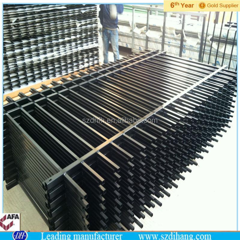 Cl ture m tallique panneaux usine offre pas cher en fer for Cloture fer forge pas cher