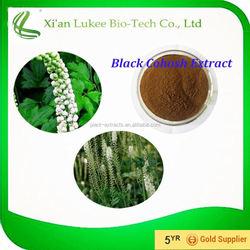 Natural Herb Extract Black Cohosh Extract 5%,8% Cimicifuga Racemosa Powder
