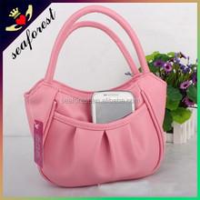 fancy small leather handbag women,cheap ladies small purse and handbag