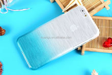 new china products for sale Gradual Change Wire Drawing Ultra Slim Hard Case for iphone 6 plastic case made in china