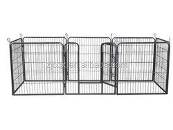 Heavy duty metal pet dog playpen wholesale