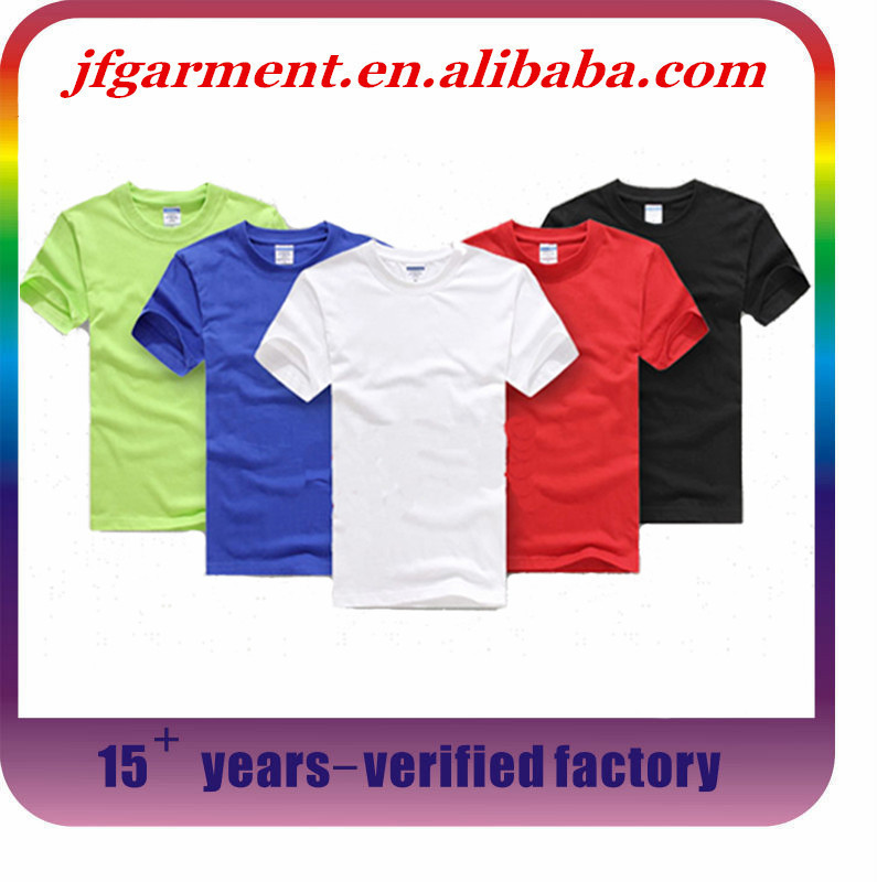 Wholesale Oem Service Plain T Shirt Custom High Quality