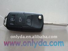 vw remote key high quality VW 3 Button remote key & 1J0 959 753 DA