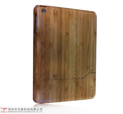 2013 new arrival natural eco-friendly carbonized bamboo cover case for ipad mini