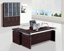 2015 Modern Wood MDF Melamine +Metal Office Executive Table/Desk CN804