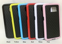 New arrival Dual color phone cover For samsung galaxy S6 edge