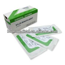 High quality blue nylon suture