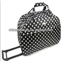 New Large Ladies Holdall Designer Hand Luggage Whleed Travel Holdall Trolley Bag Chinese Supplier Foldable Bag With Wheels