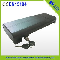 New Style rear rack 48v 10Ah electric bicycle battery,SY-BAT-107