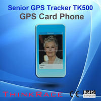 anti emergency mini personal gps tracker with phone call/sms alarm TK500