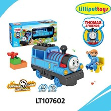 Electric Thomas train move in all direction with music and light