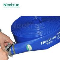 Professional easy storage heavy duty industrial pvc water flow pipe
