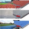 13mm thickness rubber athletic running track