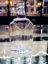 Fábrica venta al por mayor único barato pequeño licor botella 95 ml ( fábrica de vidrio tenía pasó FDA / EU / SGS )