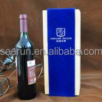 1 Bottle French Wine Wood Box Case Crate