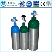 DOT/TPED Certification Portable Use Modern Oxygen Exercise Cylinder Medical Breathing Equipment
