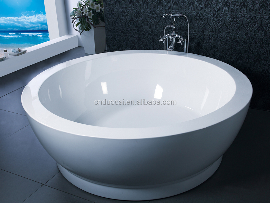 Acrylic Freestanding Cheap Corner Deep Round Japanese Soaking Tub Cm G800