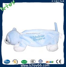 Hot sale practical plush soft handmade felt pen bag for children and adult