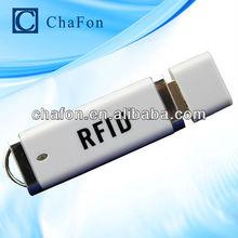 Mini USB 125khz keychain rfid reader only