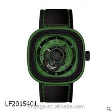 Unisex Corporate Wrist Watches Square Design