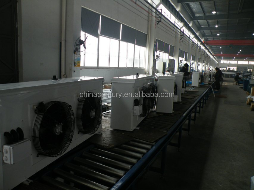 High temperature DL series evaporative air cooler with four motors for industrical cold room