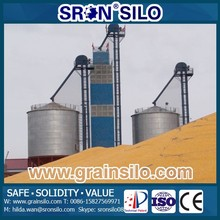 Customized Wheat Storage Silo, Hot Galvanized Steel Plate