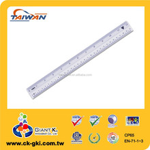 Lowest Price Standard 30cm plastic millimeter pvc ruler