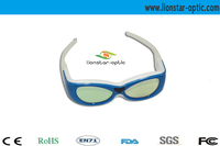 DLP link, recharge active 3D shutter glasses for 3d movies and normal tv