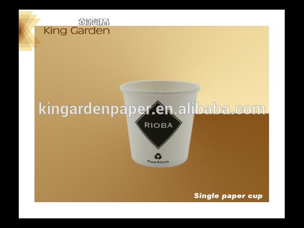 100ml tasse de papier jetable