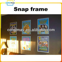 display double sided poster frame