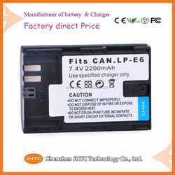 LP-E6 Digital camera battery for canon eos 5d for Canon eos 5d mark iii 5d3 for canon
