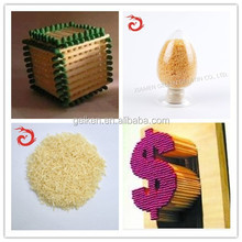 Gelatin for woodworking, paper making, wooden furniture use