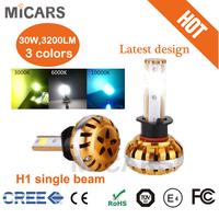 2015 latest design CANBUS error free mini size 60W/30W HILO car led headlight
