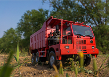 sinotruk 6*4 70 ton Mining dump truck with free parts Euro 2 for sale