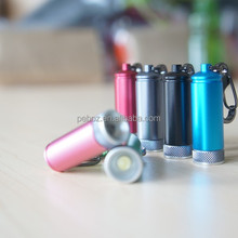 2015 Customized keychain mini torch promotional articles
