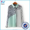 Yihao 2015 China Factory women fashion new pattern model shirt casual latest shirt designs for women dress shirt