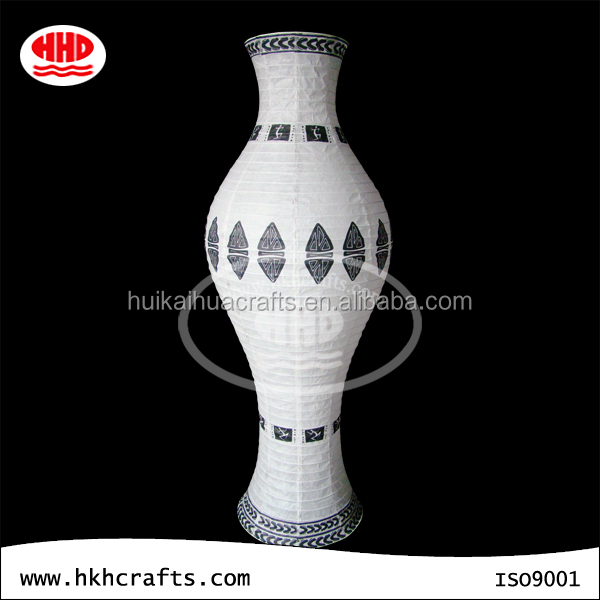 Chinses style handmade paper standard lamp